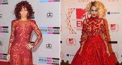 Rita Ora and Rihanna Style Off