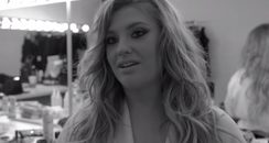 Ella Henderson Behind The Scenes 'Mirror Man' Musi