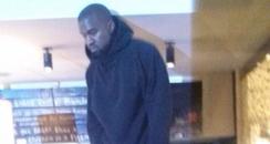 Kanye West at Nandos
