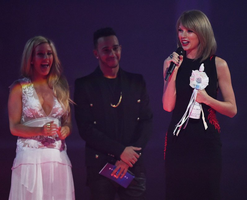 Taylor Swift BRIT Awards 2015 Winner