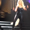 Britney Spears Hair Falls Out On Stage