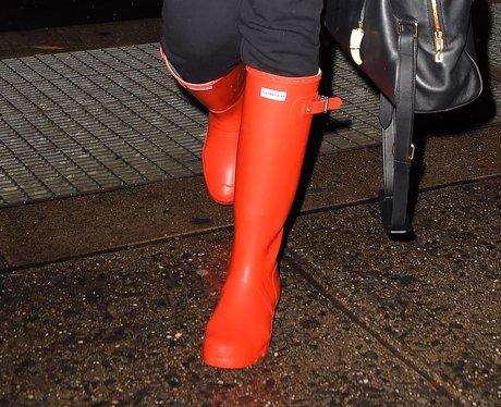 Rihanna Wellington Boots