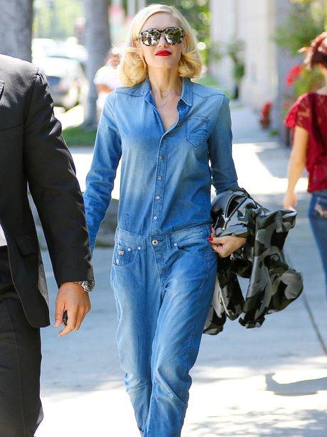Gwen Stefani in onesie