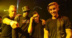 Thomas Wesley Pentz, Sean Combs, Skrillex, Justin