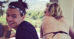 Harry Styles Thigh Tattoo Chelsea Handler Instagra