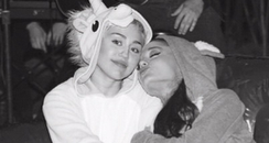 Miley Cyrus And Ariana Grande Instagram
