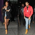 Rihanna and Drake Leaving Club