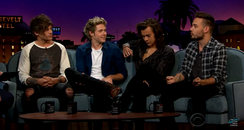 One Direction on James Corden Late Late Show