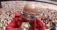 Flo Rida at the Summertime Ball 2015
