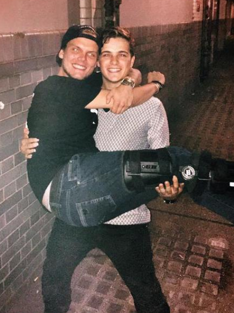 Martin Garrix And Avicii Twitter