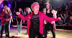 Uptown Funk 60 year-old dance cover