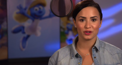 Demi Lovato Smurf Movie Announcement