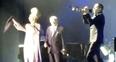 Lady Gaga Stage Fall