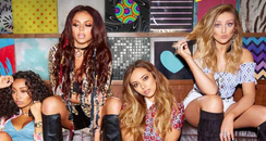 Little Mix The Get Weird Tour 2016 Poster