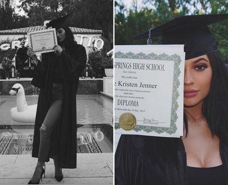 kylie jenner surprises high school