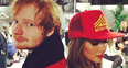 Ed Sheeran and Nicole Scherzinger