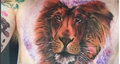 Ed Sheeran Tiger Tattoo
