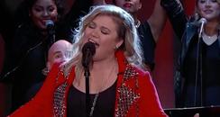 Kelly Clarkson Tinder Tales Jimmy Kimmel