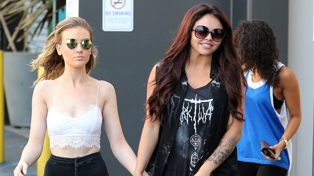 Jesy Nelson And Perrie Edwards OMG. Perrie Edwards' E...