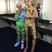 Image 1: Miley Cyrus backstage at MTV VMAs 2015
