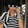 Rita Ora at the airport