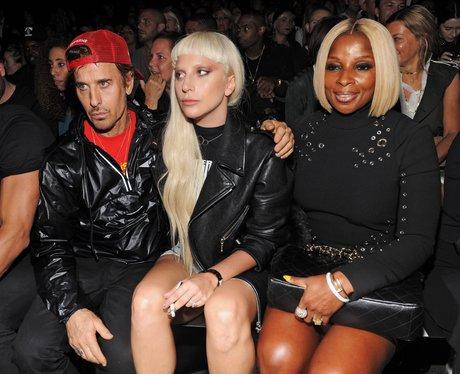 Lady Gaga Mary J Blige New York Fashion Week