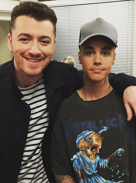Justin Bieber and Sam Smith