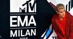 Justin Bieber - MTV EMAs 2015 red carpet