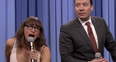 Jimmy Fallon Rashida Jones Holiday Viral