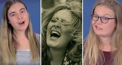 Teens Interpret Adele Song Lyrics