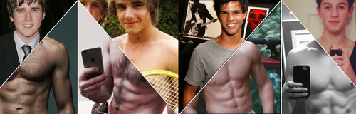 Celebrity Male Transformations Banner