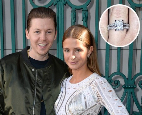 Millie Mackintosh Professor Green Engagement Ring