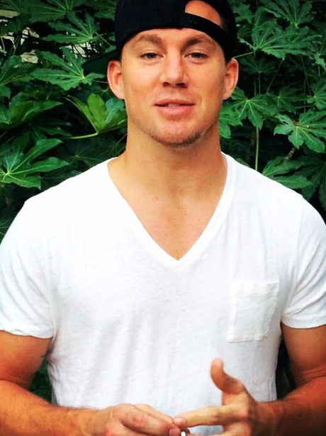 2014: How can something as simple as a white t-shirt and ... Channing Tatum