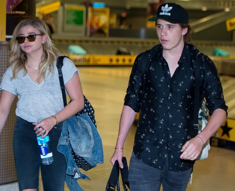 Chloe Moretz and Brooklyn Beckham spotted wearing