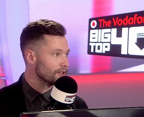 Calum Scott Big Top 40 Studio
