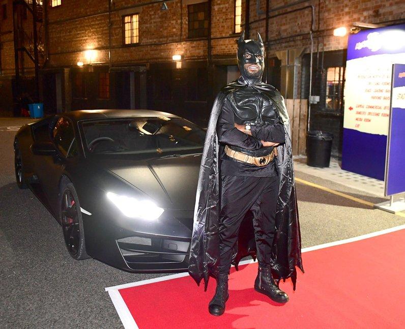 Tinie Tempah Batman Monster Mash-Up 2016 London