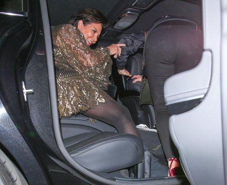 Kris Jenner looks slightly worse for wear after a