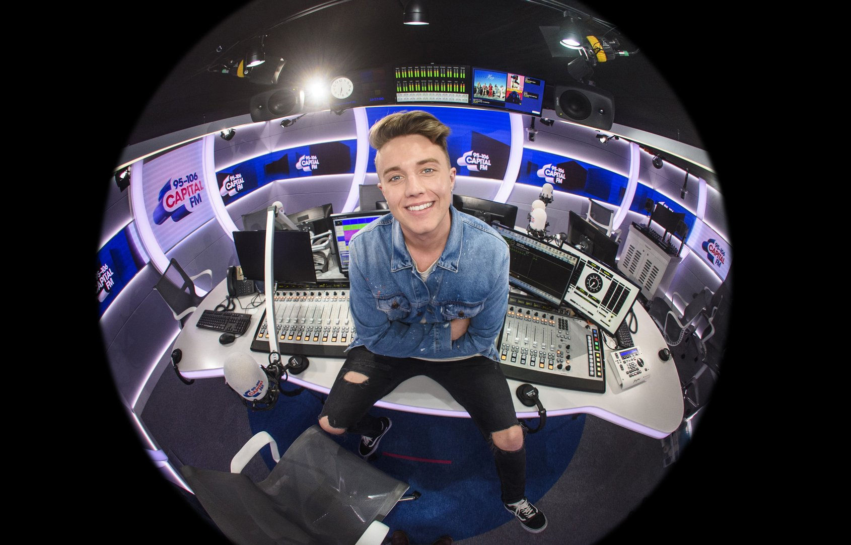 Capital London Breakfast with Roman Kemp