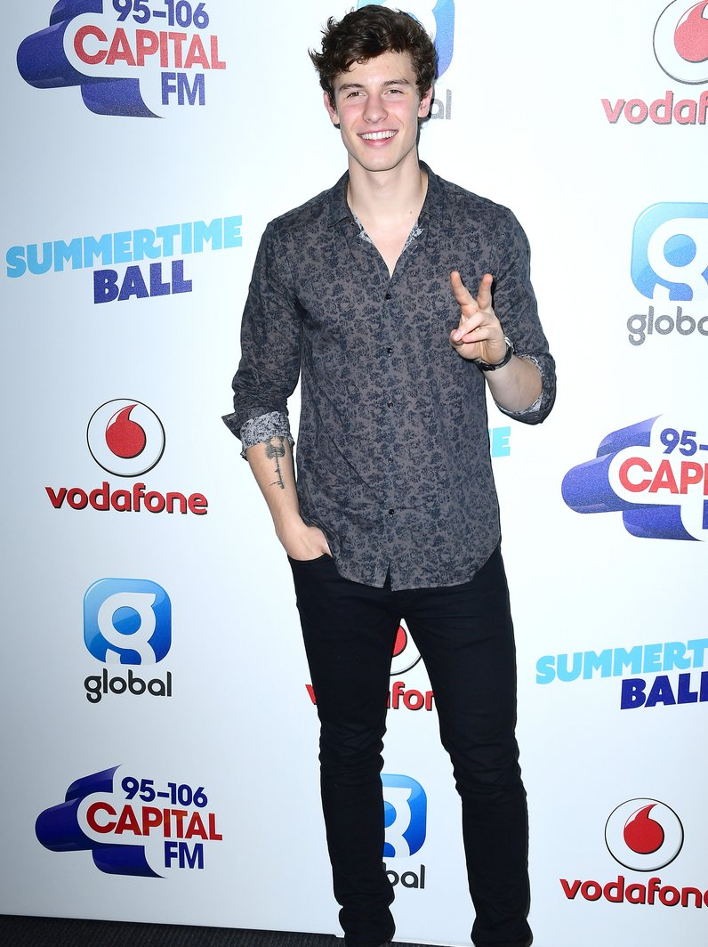 Shawn Mendes Capital Summertime 2017 Red Carpet
