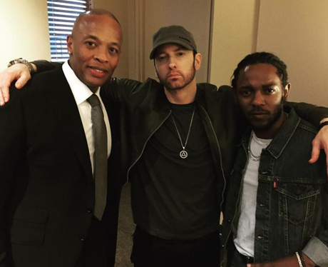 Eminem looks totally different and the internet is